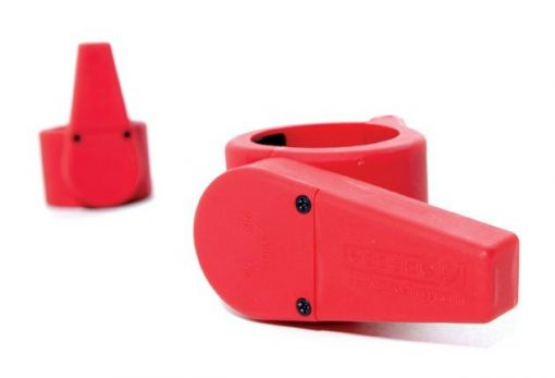 Olympic Clamp Collar – Red – pair